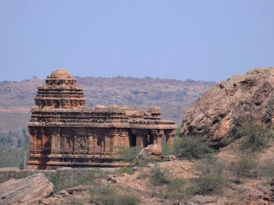 Malegitti Shivalaya in Badami