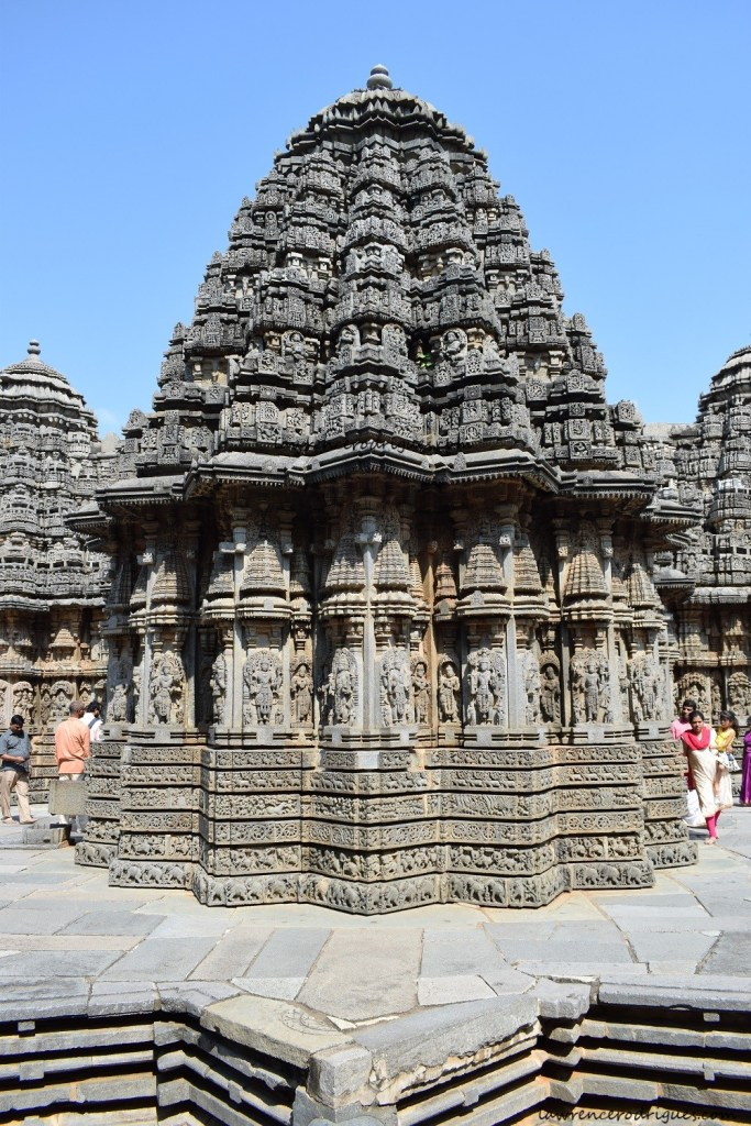 A view from the west side of the Somanathapura Keshava Temple in Karnataka, India