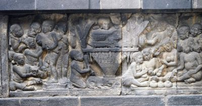 Rama's father King Dasaratha's funeral