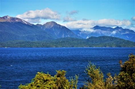 Lake Te Anau in Fiordland National Park, New Zealand