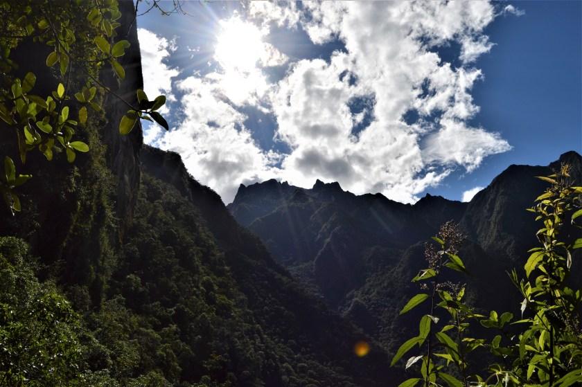 Andes mountain range near Machu Picchu