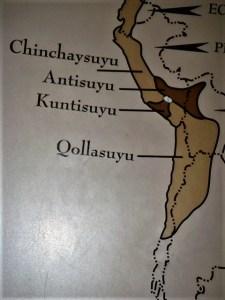 Inca Empire map