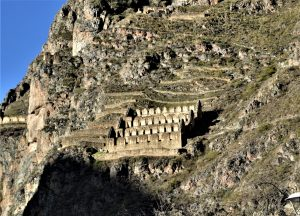 Qollqa - Inca food storage structure