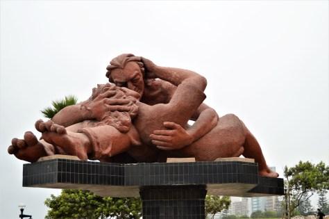 El Beso (The Kiss) in El Parque del Amor (Lover's Park)