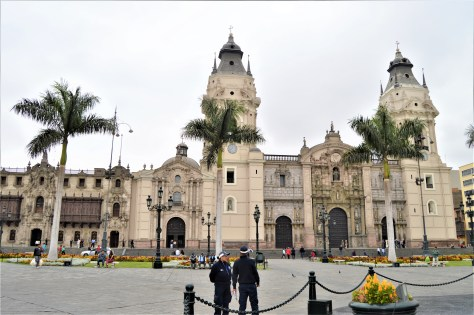 Cathedral of Lima in Lima, Peru