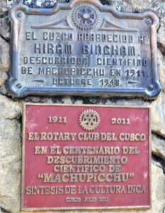 Hiram Bingham_plaque