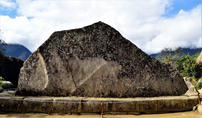 Roca Sagrada (Sacred Rock) in Machu Picchu, Peru