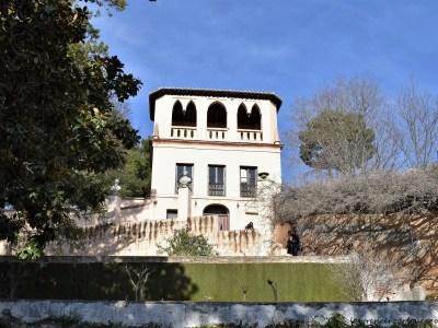 Mirador Romántico - Romantic Viewpoint - Obseravtory located at the highest point on the Generalife, Granada, Spain