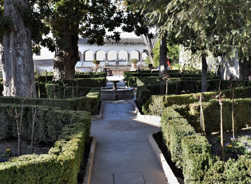 Upper Gardens of the Generalife