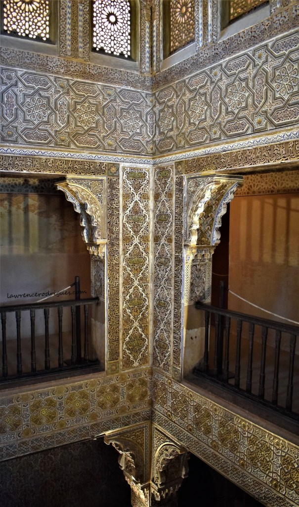 Bath keeper's house in the Comares Palace located in the north side of the Alhambra, Granada, Spain