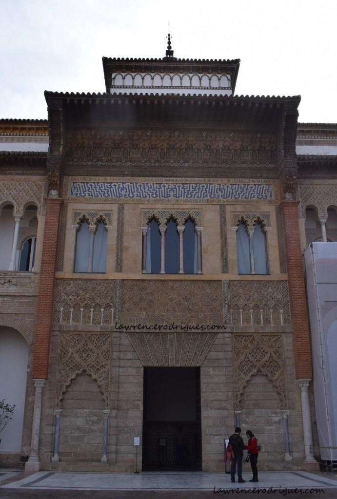 Facade of the Pedro I Palace