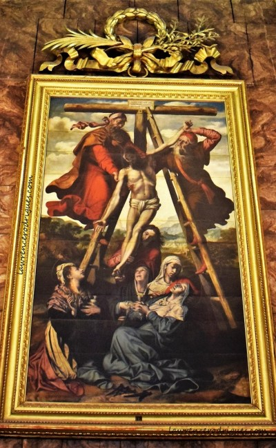 Descent from the Cross by Pedro de Campaña in the Sacristía Mayor of the Seville Cathedral