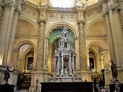 Interior of the Sacristía Mayor of the Seville Cathedral in Andalusia, Spain