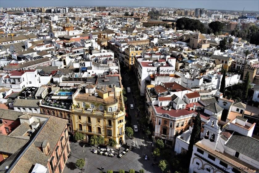 Barrio Santa Cruz in Seville, Andalusia, Spain