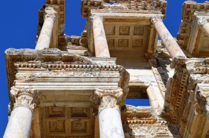 Celsus Library in Ephesus, Turkey