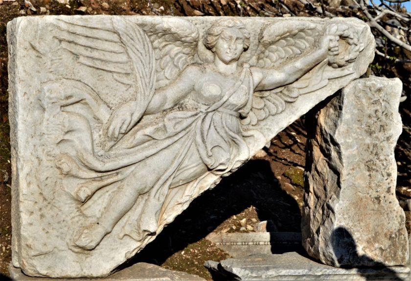 Goddess Nike in Ephesus, Turkey