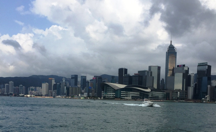 Going up the peak, Hong Kong – Guest Post by Becca