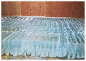 天然氷の保存