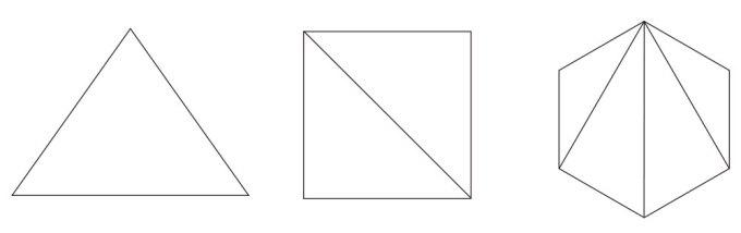 多角形の『内角の和』のシンプルな簡単公式