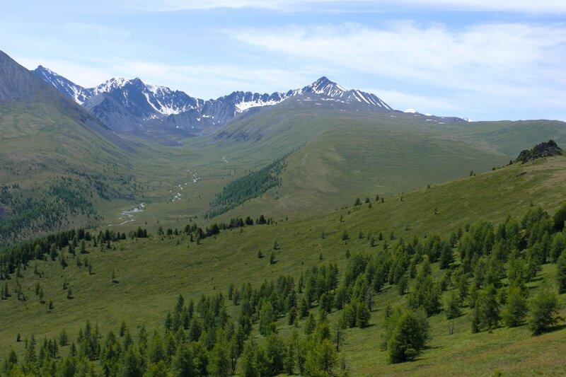 Алтайские горы на пути к Белухе