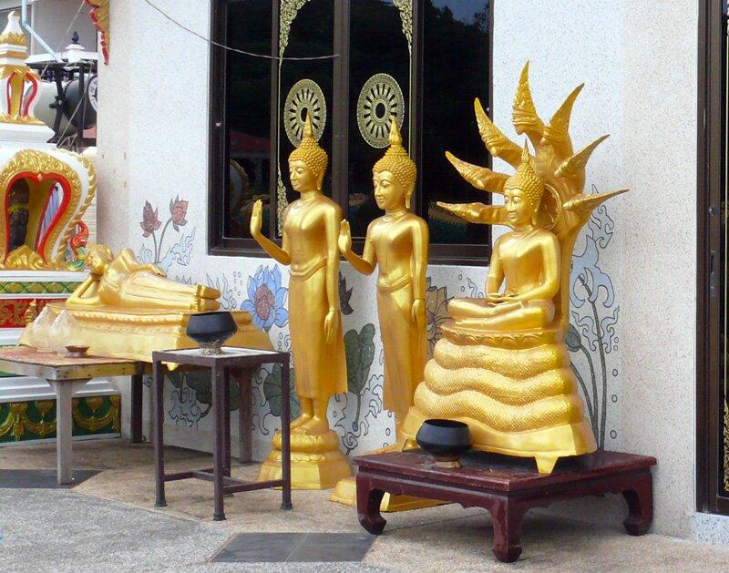 Будда на Муччалинде, Тайланд