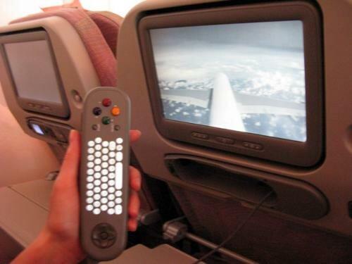 Салон А380 Emirates: мультимедийная система