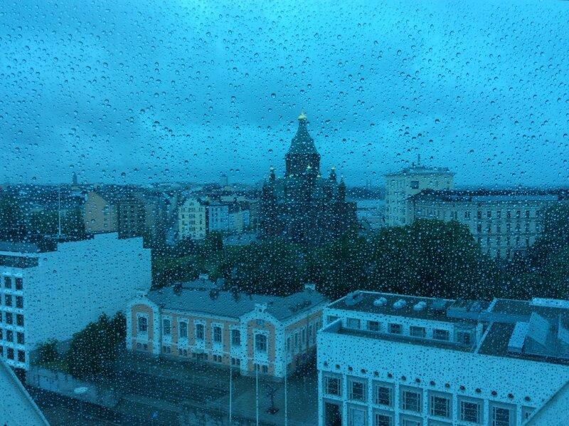 Солнечный Хельсинки, дождливый Хельсинки