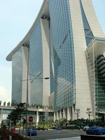 Marina Bay Sands - вид снаружи