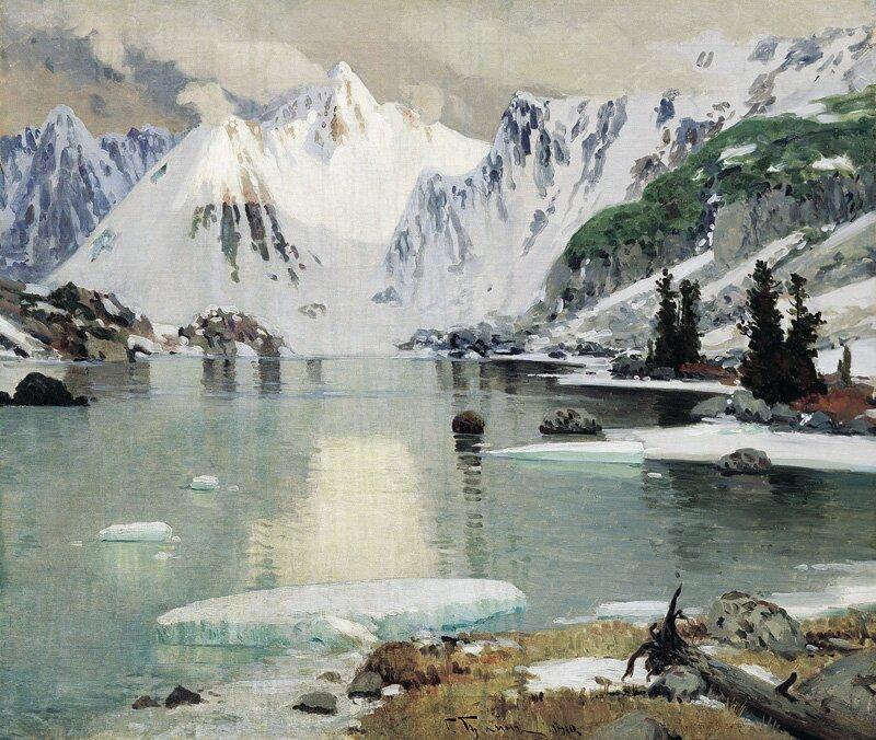 Озеро горных духов, картина Г. Чорос-Гуркина