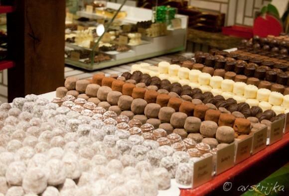 Самые шоколадные места Европы