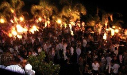 Вечеринка в Афробаре на берегу