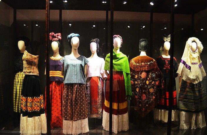 Одежда, созданная Фридой Кало
