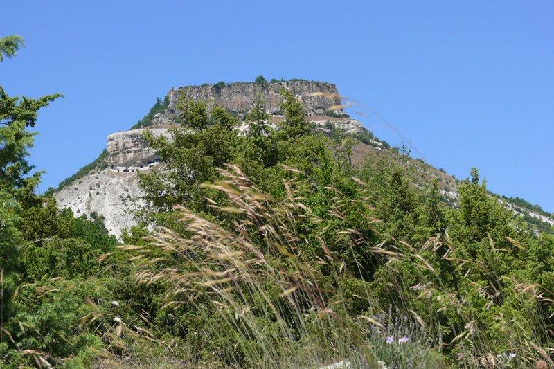 Тепе-Кермен, пещерный город