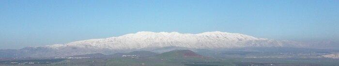 Заснеженная гора Хермон