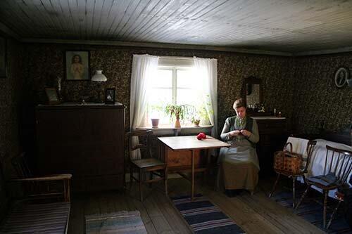 Жена крестьянина, музей Скансен