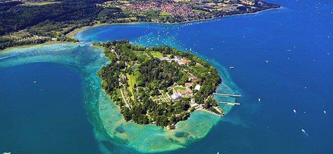 Остров Майнау, Боденское озеро, Германия
