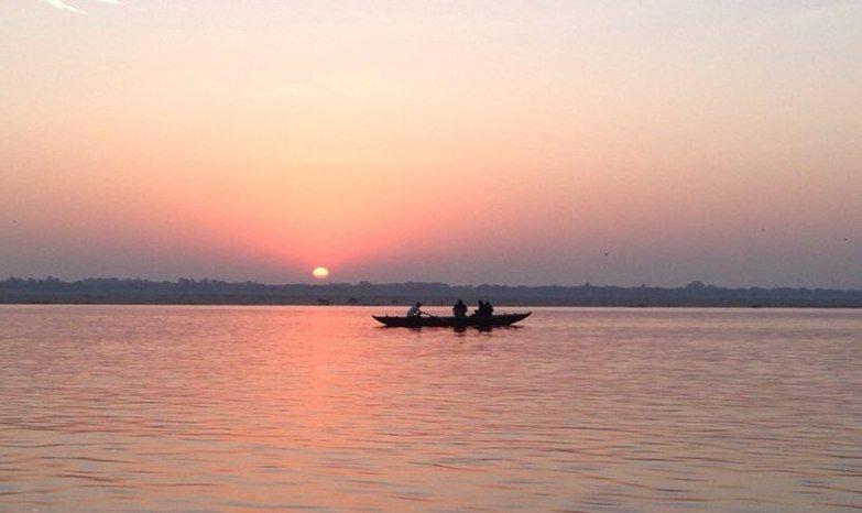 Рассвет на Ганге, Варанаси, Индия