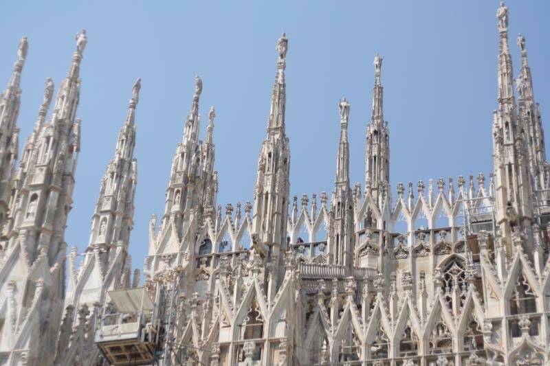 Миланский Дуомо или Собор Санта Мария Нашенто