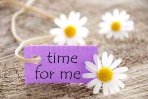 afbeelding tijd voor jezelf