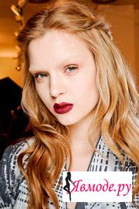 Модный макияж 2013 – андрогинный образ