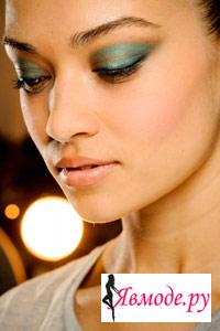 Модный макияж 2013 – необычные формы