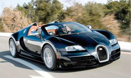 Bugatti Veyron 16.4 Grand Sport Vitesse - самый быстрый родстер