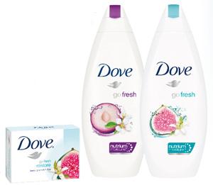 Dove представляет новинки в линии Go Fresh