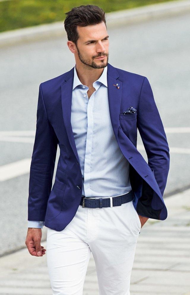 Фото новинки: приталенная мужская рубашка – с чем носить?