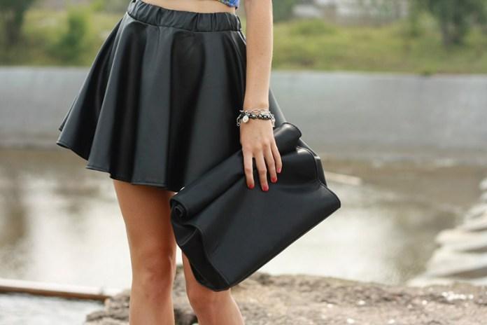 Модная юбка солнце - с чем носить?