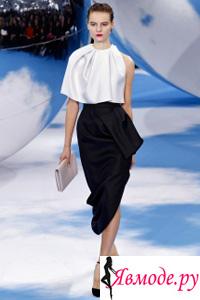Юбки с воланами 2013-2014 - Christian Dior