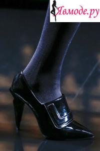 Модные туфли осень-зима 2013-2014 - Fendi