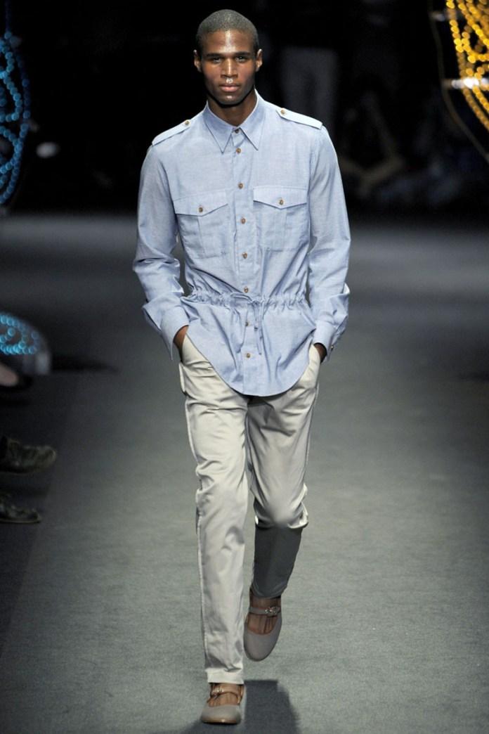 С чем носить мужские джинсовые рубашки – фото новинки