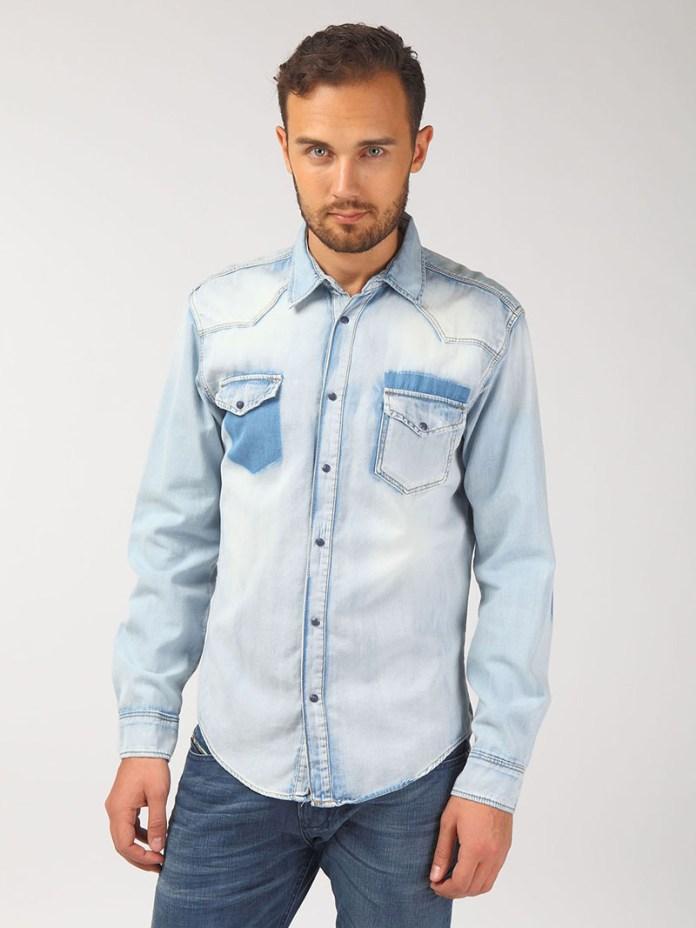 Фото: мужские джинсовые рубашки
