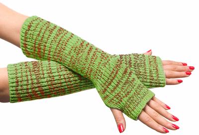 Митенки или перчатки без пальцев